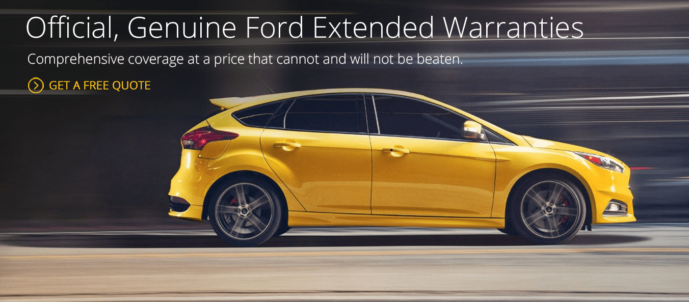 Affordable ford extended warranty prices